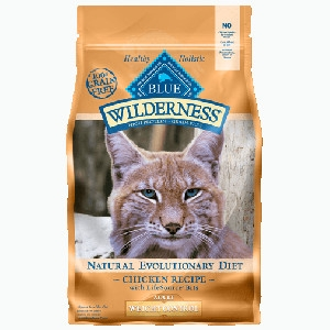 Blue Buffalo Wilderness Weight Control Chicken/Brown Rice Cat 11#