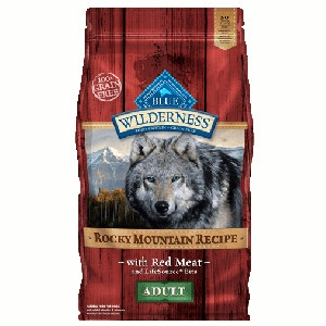 Blue Buffalo Wilderness Rocky Mountain Recipe Red Meat Dog 4#