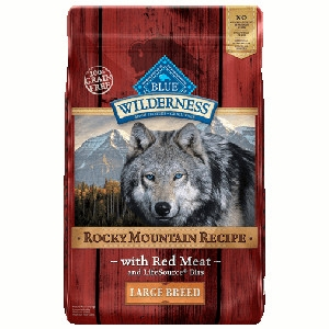 Blue Buffalo Wilderness Rocky Mountain Recipe Large Breed Red Meat Dog 22#
