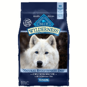 Blue Buffalo Wilderness Senior Chicken Dog 24#