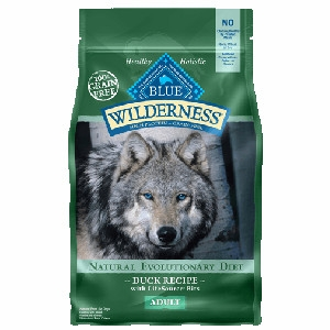 Blue Buffalo Wilderness Duck Dog Food 4.5#