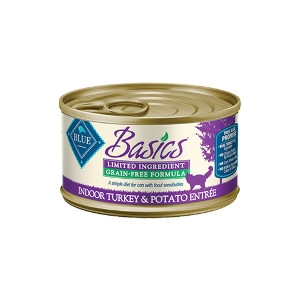 Blue Buffalo Basics Grain Free Turkey Cat 24/3OZ