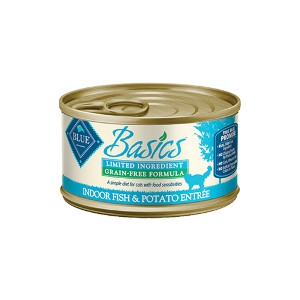 Blue Buffalo Basics Fish Cat 24/3OZ