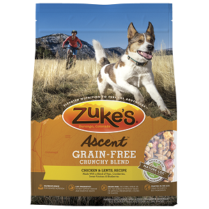 Zuke's Ascent™ Grain-Free Crunchy Blend Chicken & Lentil Recipe