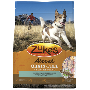 Zuke's Ascent™ Grain-Free Crunchy Blend Pollock & Chickpea Recipe