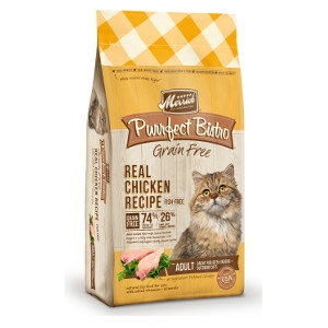 Merrick Purrfect Bistro Grain Free Real Chicken Recipe for Cats- 4lbs