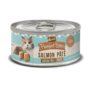 Merrick Purrfect Bistro Grain Free Salmon pate for Cats