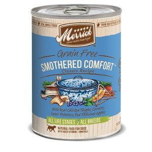 Merrick Grain Free Smothered Comfort Classic Recipes for Dogs- 13.2oz
