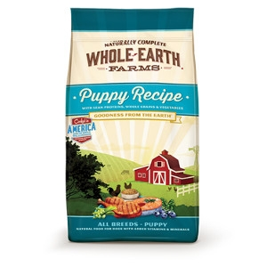 Whole Earth Farms Puppy Recipe