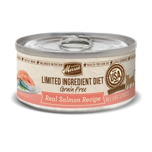 Limited Ingredient Diet Real Salmon Recipe Canned Cat Food, 5 oz.