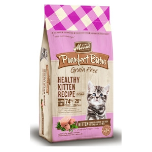 Merrick Purrfect Bistro Grain Free Healthy Kitten Recipe for Cats- 7lbs