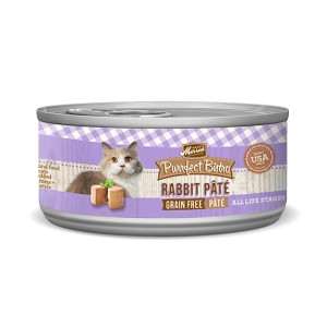 Merrick Purrfect Bistro Rabbit Pate for Cats- 5.5oz
