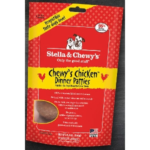 Chewy's Chicken Freeze-Dried Dinner Patties for Dogs- 15oz