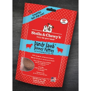 Dandy Lamb Freeze-Dried DInner Patties for Dogs 15 oz.