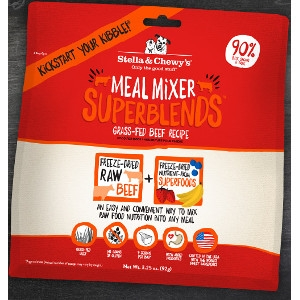 Grass-Fed Beef Superblends Meal Mixers for Dogs- 3.25oz