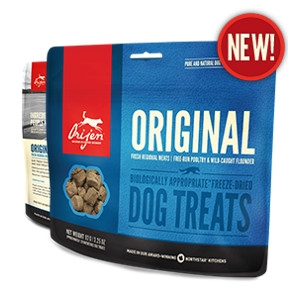 Orijen Freeze-Dried Original Treats for Dogs- 3.25oz