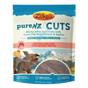 Zuke's® PureNZ™ Jerky Cuts with Beef & Salmon Dog Treats