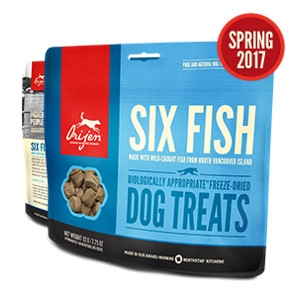 Orijen Freeze-Dried Six Fish Treats for Dogs- 1.5oz