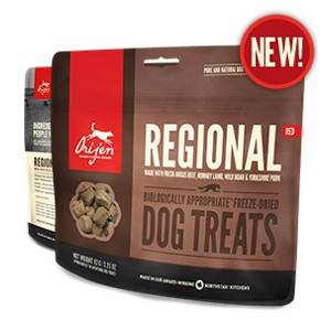Orijen Freeze-Dried Reginal Red Treats for Dogs- 1.5oz