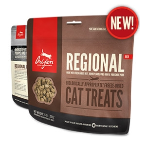 Orijen Freeze-Dried Regional Red Cat Treats- 1.25oz