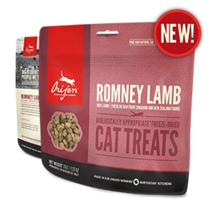 Orijen Freeze-Dried Romney Lamb Cat Treats- 1.25oz