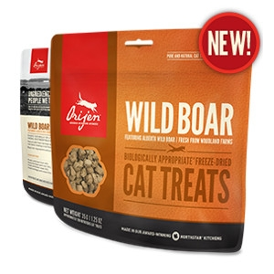 Orijen Freeze-Dried Wild Boar Cat Treats- 1.25oz