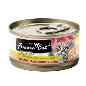 Fussie Cat® Tuna with Pawns Canned Cat Food