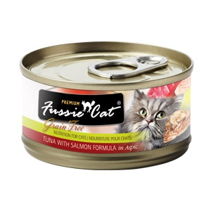 Fussie Cat® Tuna with Salmon Canned Cat Food