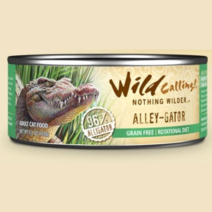 Alley-Gator Canned Cat Food