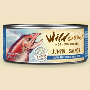 Jumping Salmon® Canned Cat Food
