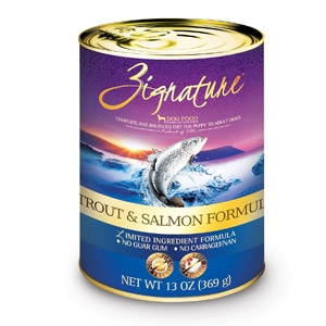 Zignature Trout & Salmon Formula for Dogs- 13oz