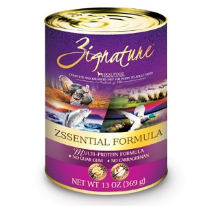 Zignature® Zssential Formula Wet Dog Food