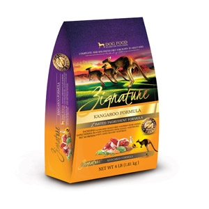 Zignature Kangaroo Formula for Dogs- 4lbs