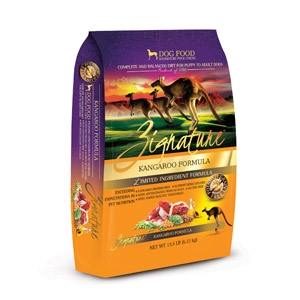 Zignature Kangaroo Formula for Dogs- 13.5lbs