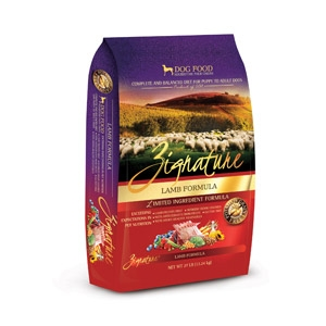 Zignature Lamb Formula for Dogs