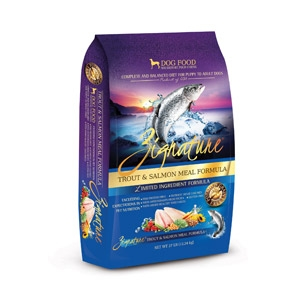 Zignature Trout & Salmon Formula for Dogs- 27lbs