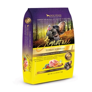 Zignature Turkey Formula for Dogs