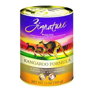 Zignature Kangaroo Formula Canned Dog Food