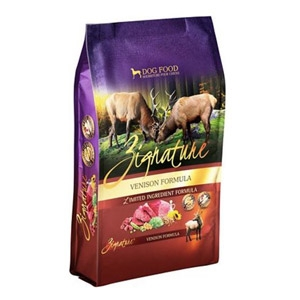 Zignature Venison Formula for Dogs- 4lbs