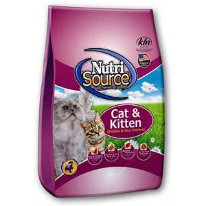 NutriSource® Cat & Kitten Chicken & Rice Cat Food