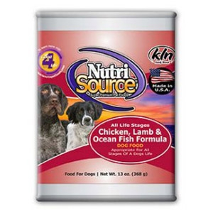 NutriSource® Chicken, Lamb & Ocean Fish Formula Wet Dog Food