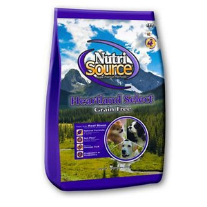 NutriSource® Heartland Select Grain Free Dry Dog Food