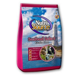 NutriSource® Seafood Select Grain Free Dry Dog Food