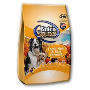 NutriSource® Lamb Meal & Rice Dog Food