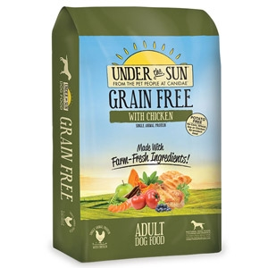 Under the Sun® Grain Free with Chicken Adult Dog Food