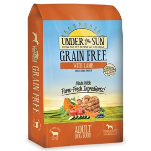Under the Sun® Grain Free with Lamb Adult Dog Food