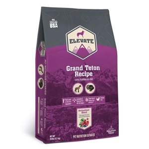 Elevate™ Grand Teton Recipe Super Premium Grain Free Dry Dog Food