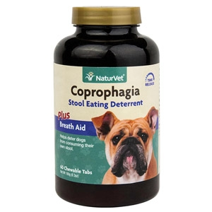 Coprophagia Stool Eating Deterrent Chewable Tablets for Dogs