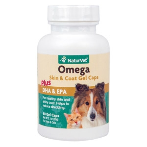 Omega Skin & Coat Gel Caps for Pets