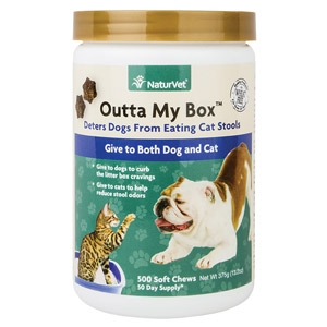 Outta My Box™ Stool Eating Deterrent for Pets